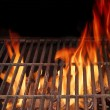 Stock Photo: Hot BBQ Grill and Burning Fire XXXL