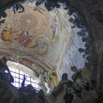 El Transparente, indoor Cathedral of Toledo — Stock Photo