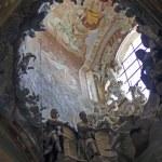 El Transparente, indoor Cathedral of Toledo - — Stock Photo