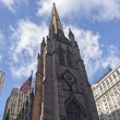 Stock Photo: Trinity Church in New York