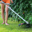 Mowing the Grass — Stock Photo