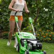 Mowing lawn — Stock Photo #31295185