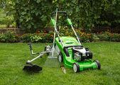 Outdoor shot of garden equipment. — Stock Photo