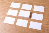 визитные карточки — Стоковое фото