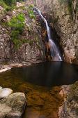 Gorg Negre de Gualba. Montseny. — Stock Photo