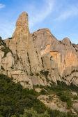 Cavall Bernat. Montañas de Montserrat. — Stok fotoğraf