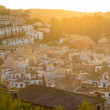 Tossa de Mar al atardecer — Stock Photo