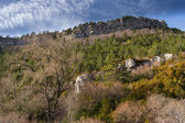 Vista desde el refugio Sant Jordi. Cadi. — Stock Photo