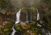 Cascada Salto de Murcarols. Cadi. — Stock Photo