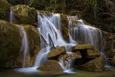 водопад на реке саллент. ла гарроча — Стоковое фото
