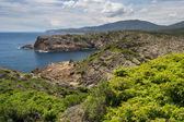 View of Cap de Creus. Costa Brava. — Stock Photo