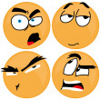 Expressions — Stock Vector #29880393