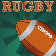 Stock Vector: Rugby