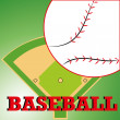 Baseball — Stockvektor #29970051