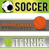 Sports — Stock Vector