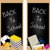 Back to school — Stock Vector