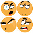 Expressions — Stock Vector #30072599