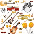 Stock Vector: Instruments