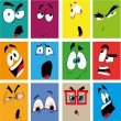 Expressions — Stock Vector