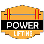 Powerlifting — Stock Vector