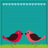 鳥類 — ストックベクタ