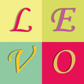 Amour — Vecteur