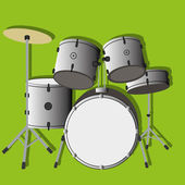 Drums — Stock Vector