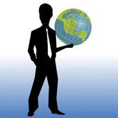 Business man — Vector de stock