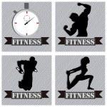 Fitness — Stock Vector #30509813