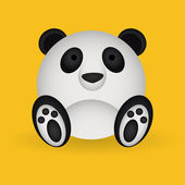 Panda — Vetorial Stock