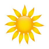 Ładny słoneczny — Wektor stockowy