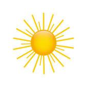 милое солнце — Cтоковый вектор