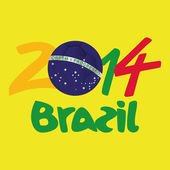 Brazílie — Stock vektor