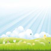春天 — 图库矢量图片