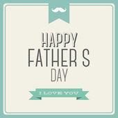 父の日おめでとう — ストックベクタ