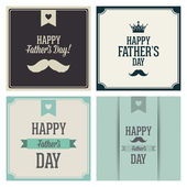 Happy Father's Day — Vector de stock