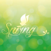 Spring — Vetorial Stock