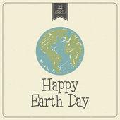 Earth Day — Stock Vector