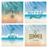 Urlaub sommer — Stockvektor