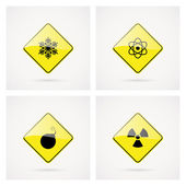 Danger Signals — Stock Vector