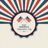 Día de la independencia — Vector de stock