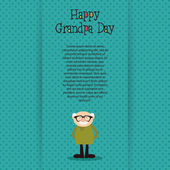Grandparents day — Vector de stock