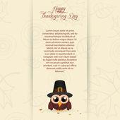 Thanksgiving day — Stock Vector