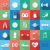 Healthy Lifestyle — Vector de stock