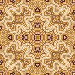 Stock Vector: Seamless abstract pattern in shades of gold