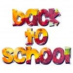 "Inscription ""back to school"" — Stock Vector #29298827"