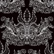 Vintage seamless background baroque pattern — Stock Vector #36061209