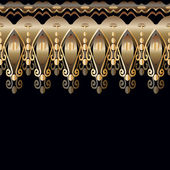 Hintergrund mit abstrakte geometrische muster im art deco stil — Stockvektor