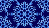 Background with watercolor snowflakes — Stock Vector