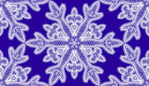 Seamless pattern with snowflakes of lace — Stock Vector